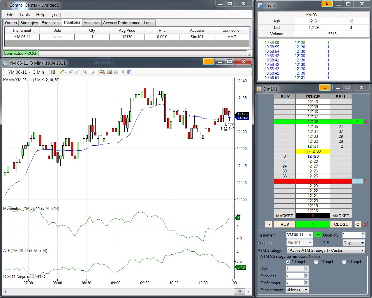 Forex brokers using ninjatrader