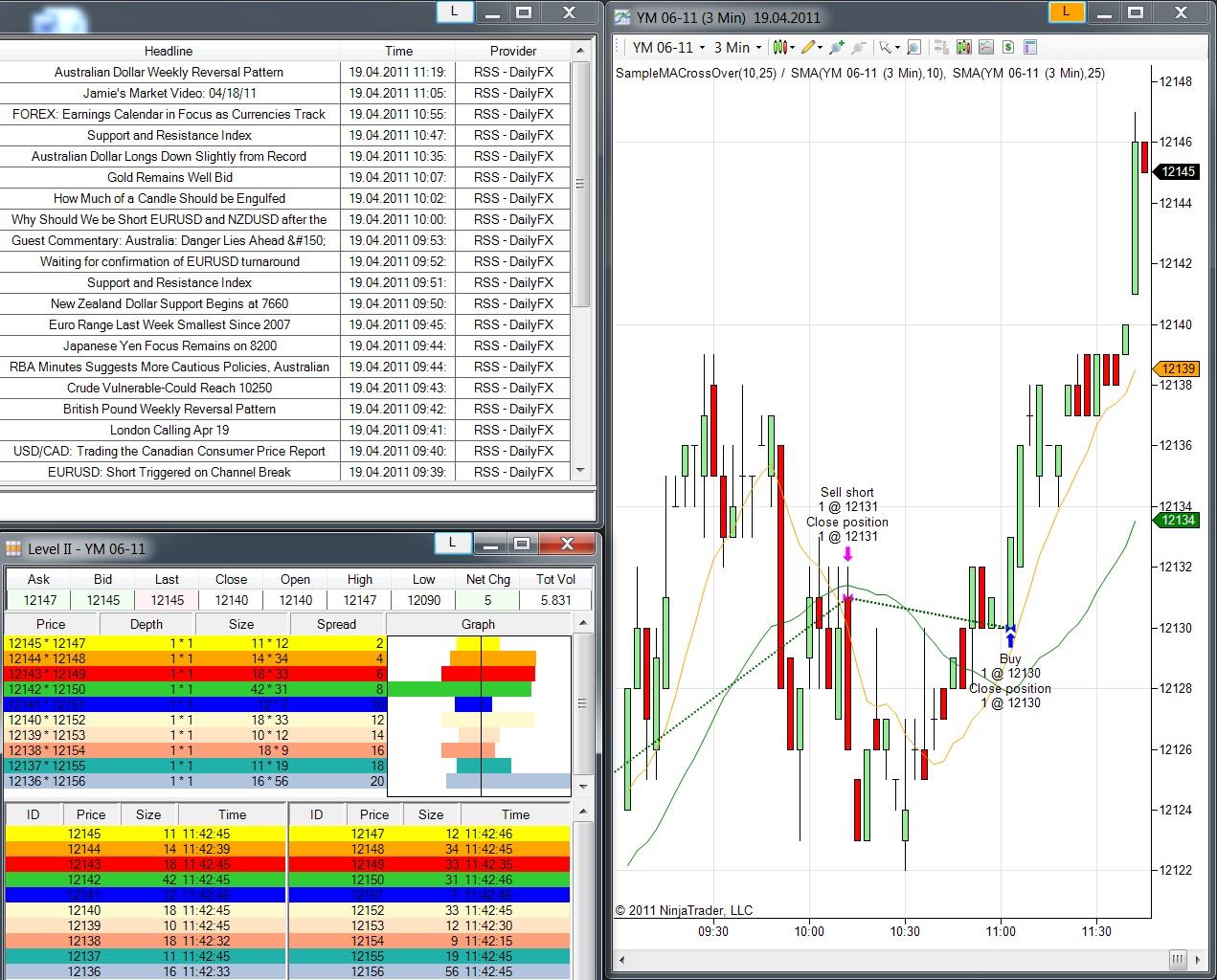 K ninja trader brokerage